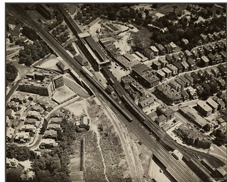 Aerial forest hills 1929 | by clayville