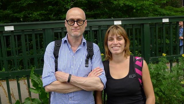 Jan Glas en Kim Moore