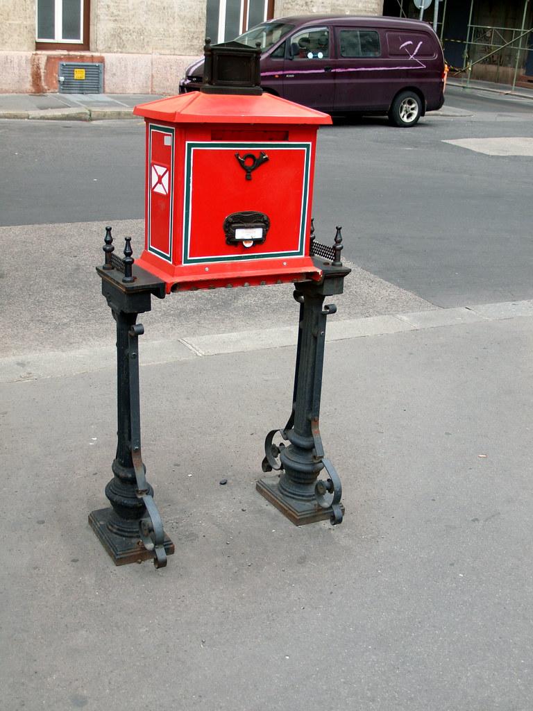 Walking Letter Box Interesting Design Of Public Letter Box Flickr
