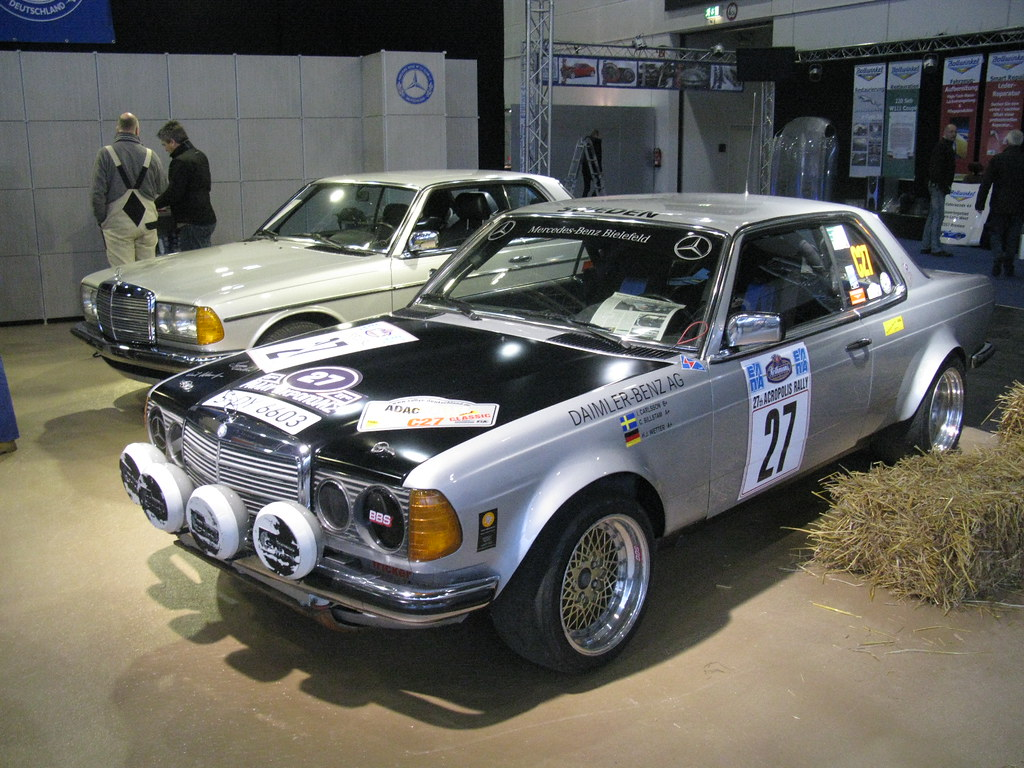 Mercedes benz 280 ce rally ingvar carlsson nakhon100 for Rally mercedes benz