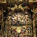 Maître-autel, détail, église de l'ancien monastère San Salvador, Celanova, comarque de Tierra de Celanova, province d'Ourense, Galice, Espagne.