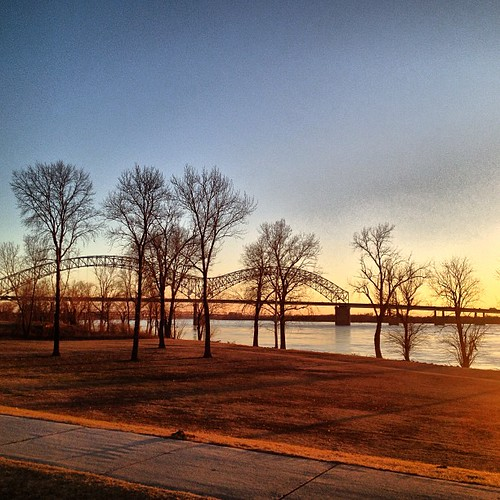 Harbortown Apartments: 02-16-13; Mississippi River Greenbelt Park, Memphis TN #mi