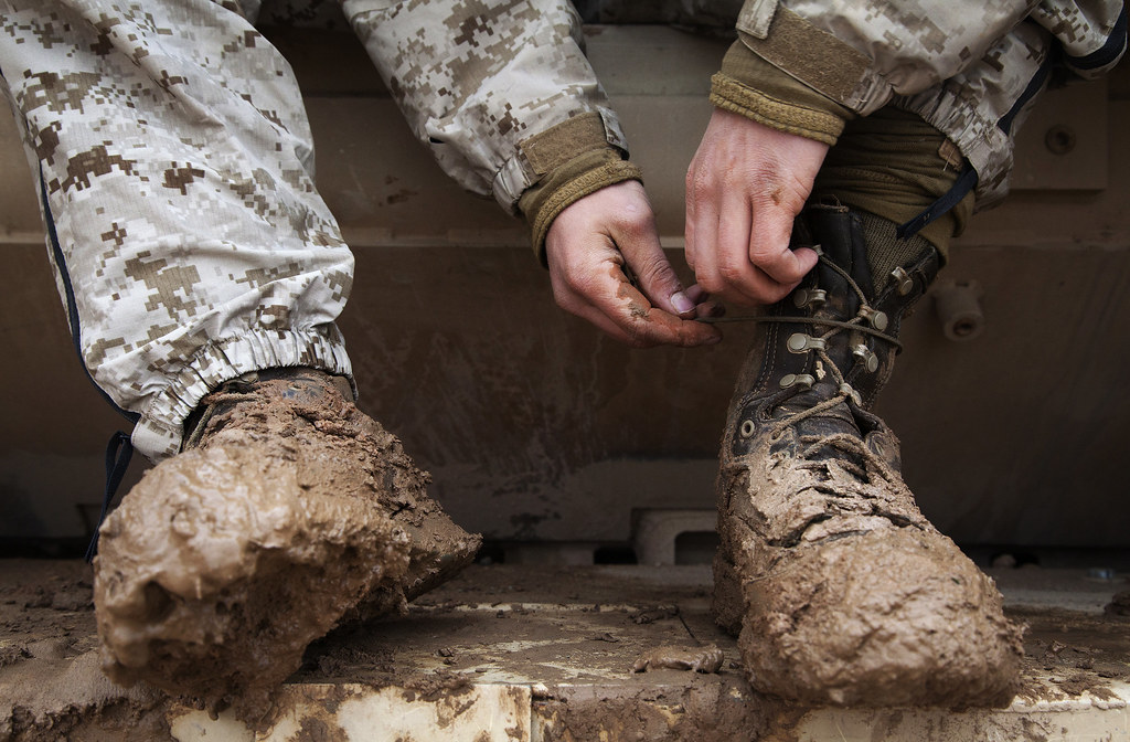 Mud On The Tires U S Marine Corps Lance Cpl Chester