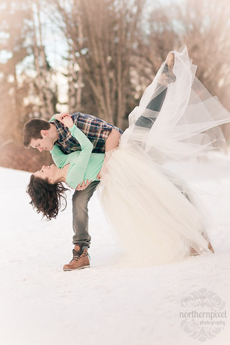 Winter Ballet Engagement Session | by Shauna Stanyer (Northern Pixel)