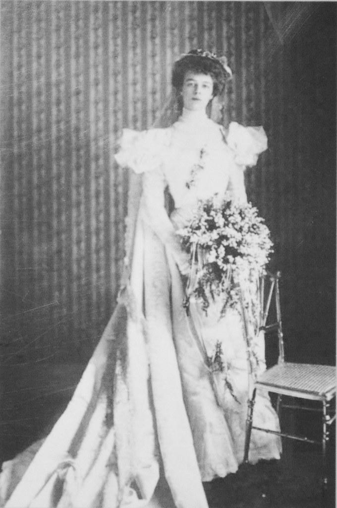 Eleanor Roosevelt In Wedding Dress