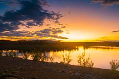 Flaming Gorge Sunset by Schneidz