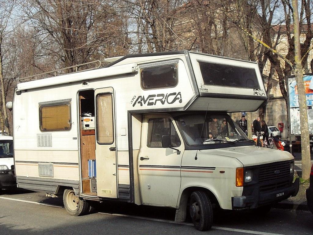 ford transit 2 4 d 1984 camper arca america 370 su base. Black Bedroom Furniture Sets. Home Design Ideas