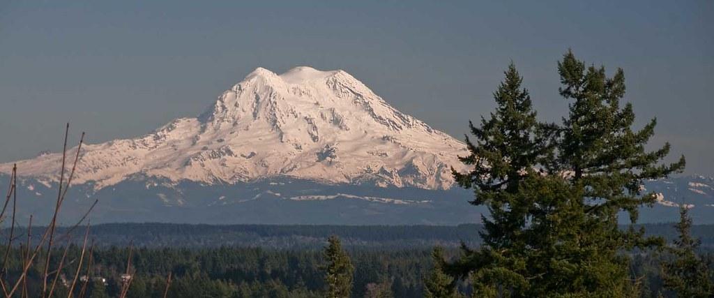 Mt. Rainier as seen fr...