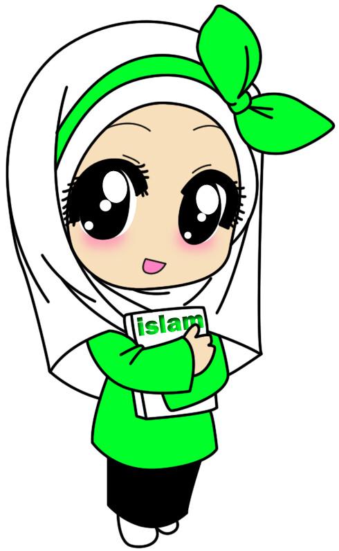 Kartun Muslimah Love Islam | Djabrieck | Flickr