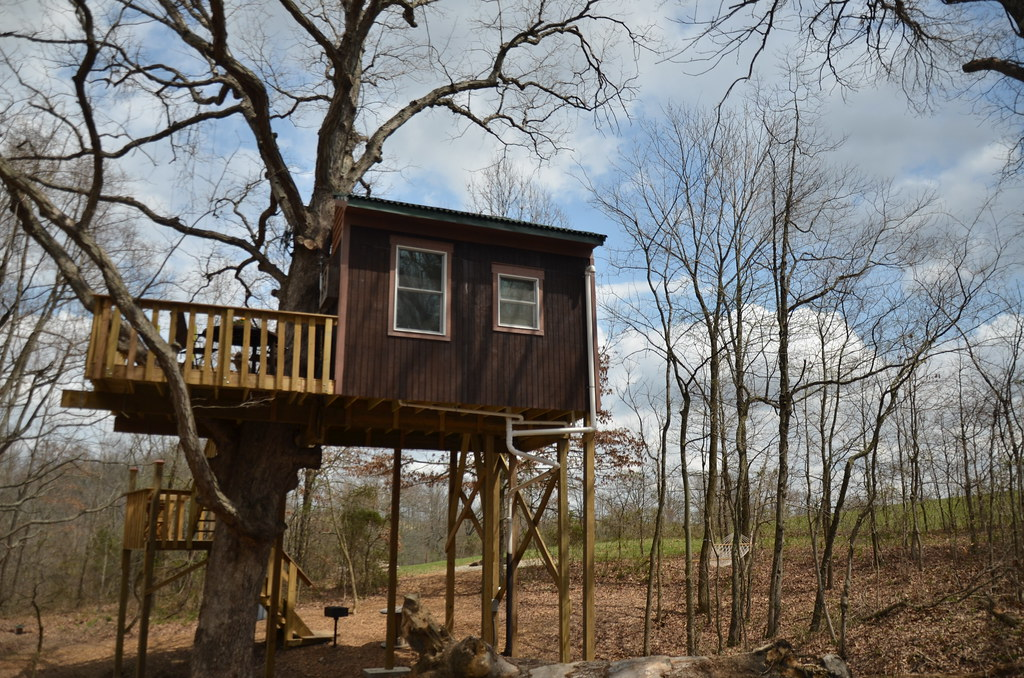 Tree House Cabin Timber Ridge Outpost Cabins Garden Of T Flickr