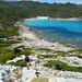 Climbing to a viewpoint, Coastal walk Saint Florent, Corsica