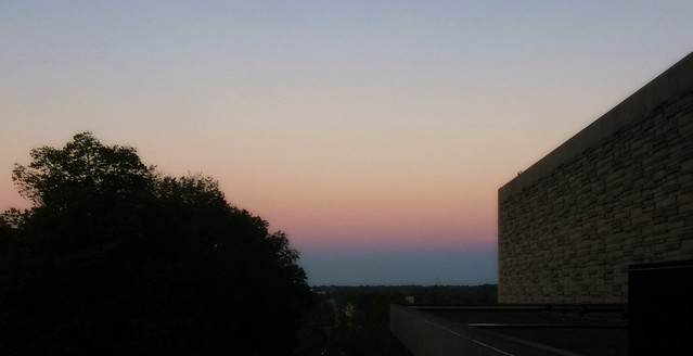 Belt of Venus from the Break Room