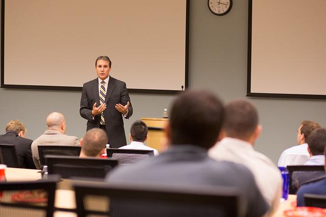 Senator Rene Garcia Speaks at Inaugural Business & Medicine Lecture
