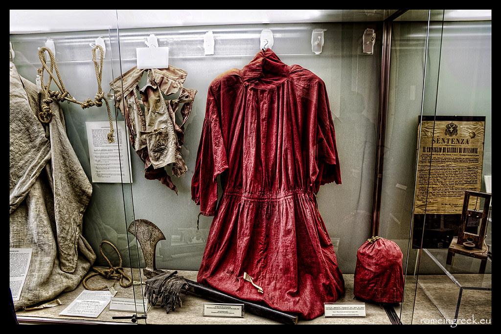 Mantello Di Mastro Titta Museo Criminologico Via Del