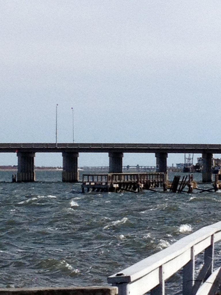 Hurricane sandy pier destroyed i have many memories for Point lookout fishing pier