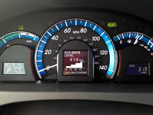 #MORE miles per gallon than my old car ever dreamed of. Your mileage may vary... | by Vicki Devine