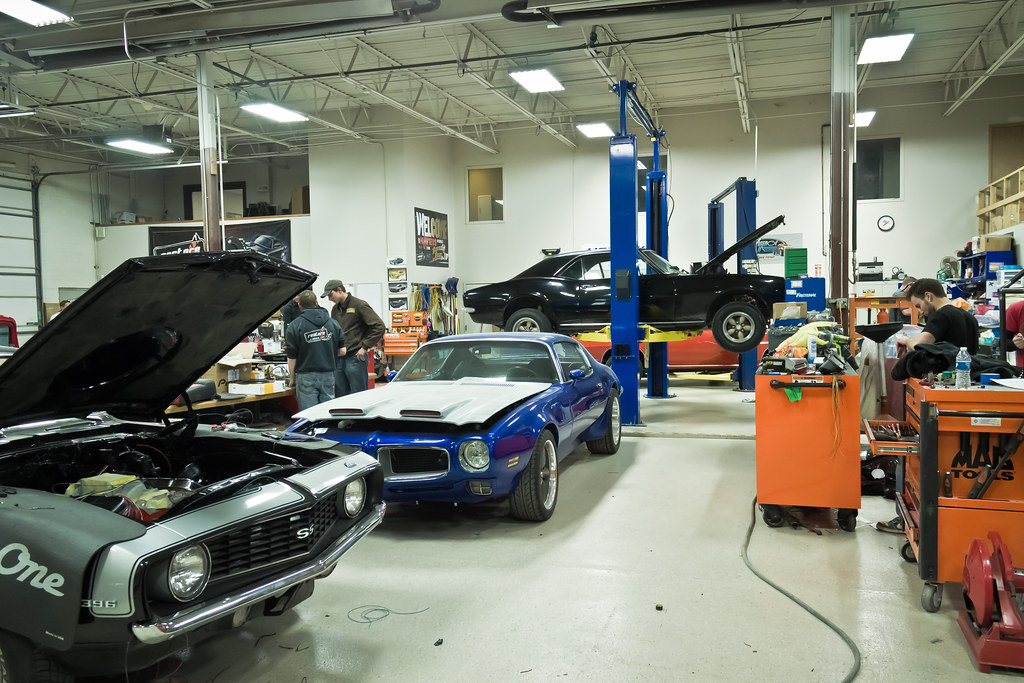 Shop Photos Restore A Muscle Car Lincoln Ne Shop Photos