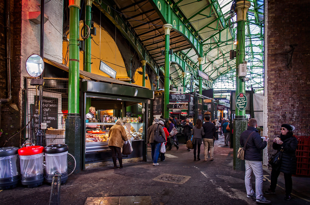Food To Eat In Borough Market