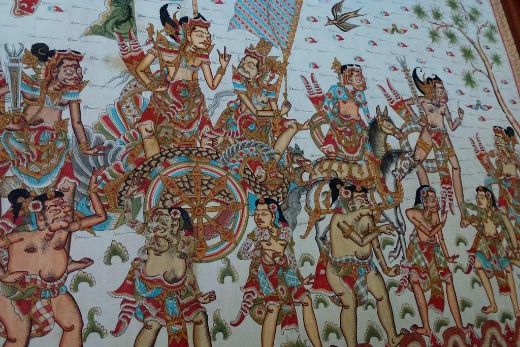 Traditional Balinese Wall Art | Traditional Balinese Wall Ar… | Flickr