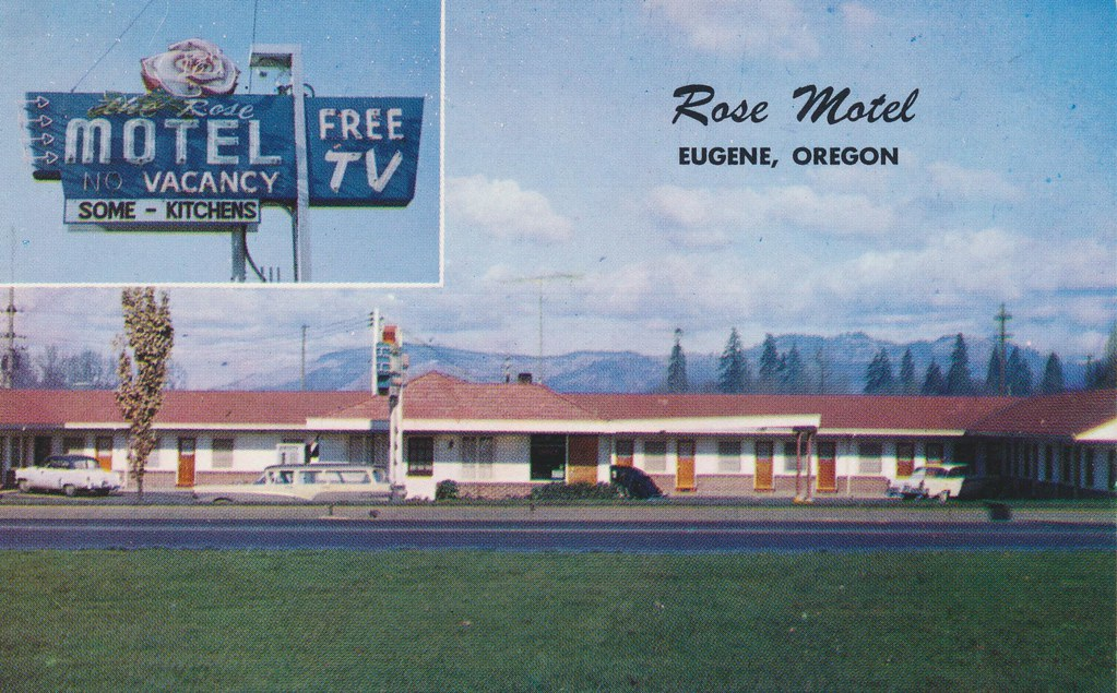 Rose Motel - Eugene, Oregon