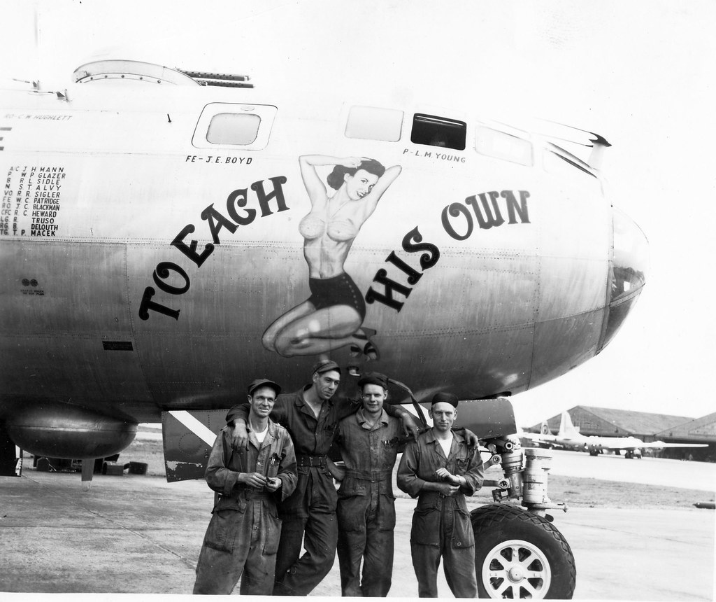Boeing B-29A, 44-62207, To Each His Own, 98th BW, 344th BS