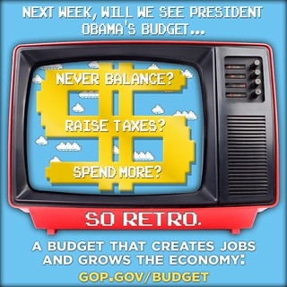 President Obama's Retro Budgeting | by House GOP