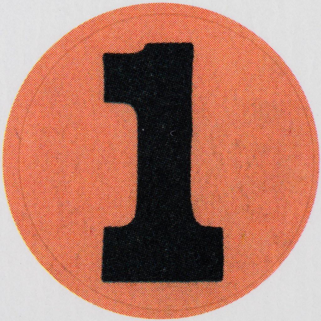 Vintage Sticker number 1 | Leo Reynolds | Flickr