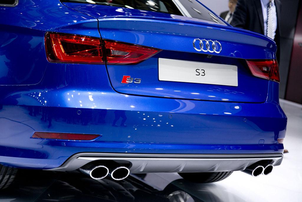 Audi s3 Sedan Blue 2015 Audi s3 Sedan