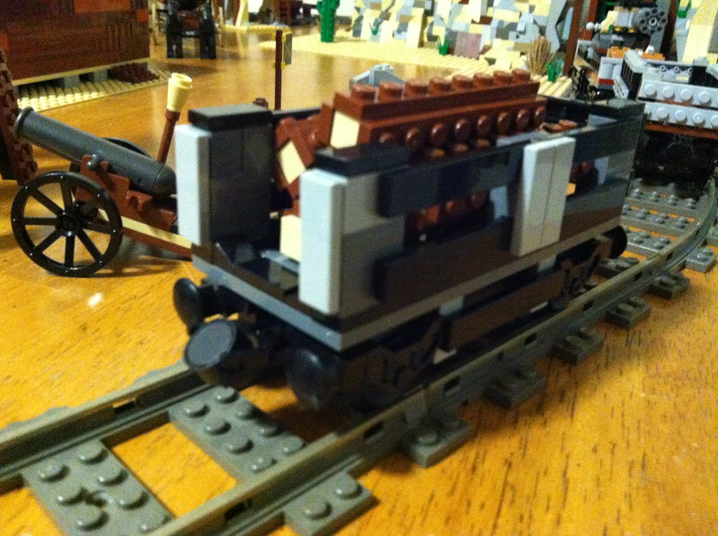 Lego Train Log Car I Wanted To Add A Few More Cars To The Flickr