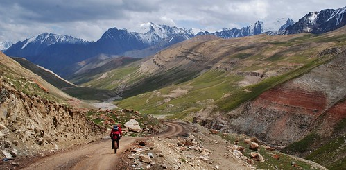 Descending down the Kichi Alay valley | by Pikes On Bikes
