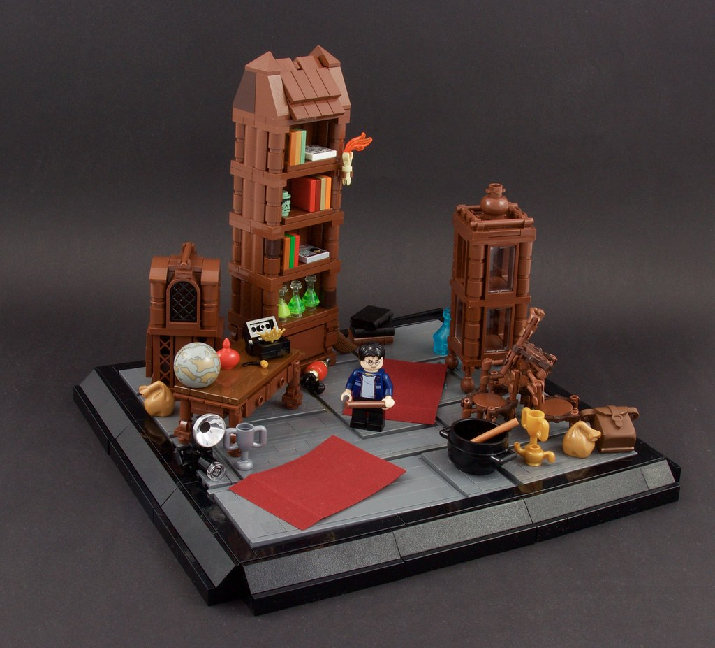 Harry Potter Room Of Requirement Just A Moc For In