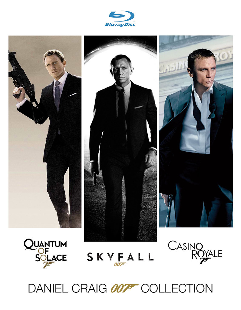 DANIEL CRAIG 007 COLLECTION Blu-ray | I thought I'd have a c ... Daniel Craig