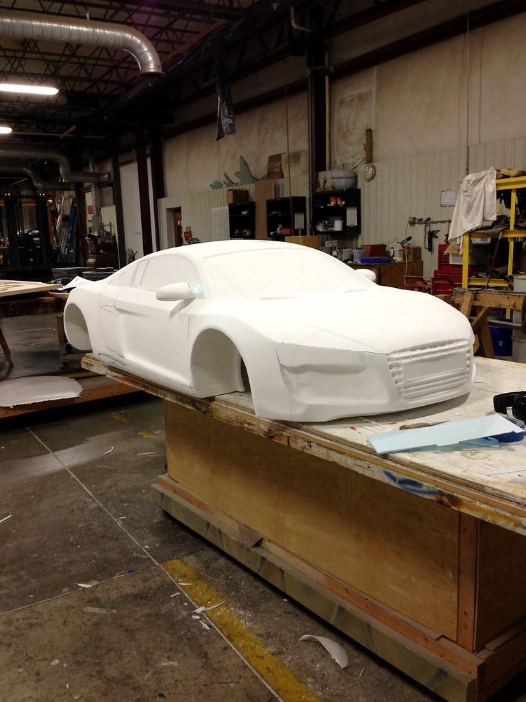 Large Scale Foam Car | Large Scale foam car created by Garag… | Flickr