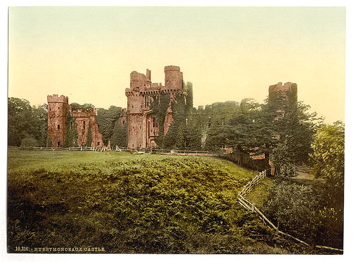 [The castle, Hurstmonceux, England]  (LOC) | by The Library of Congress