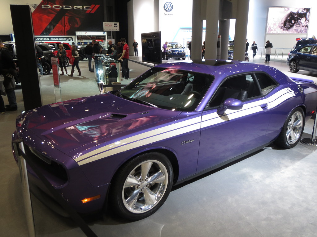 2018 Dodge Challenger >> Plum Crazy Dodge Challenger R/T Classic | New York Internati… | Flickr