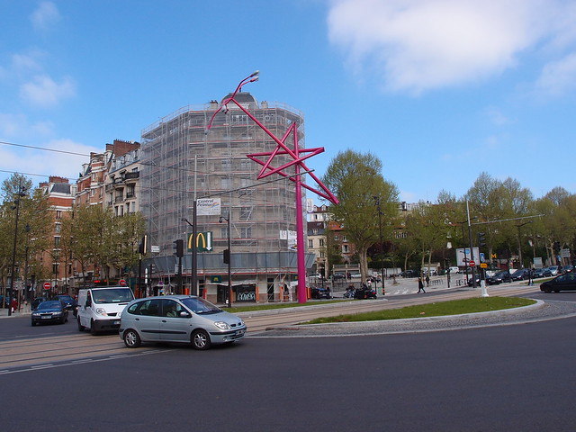 place de la porte de bagnolet flickr photo