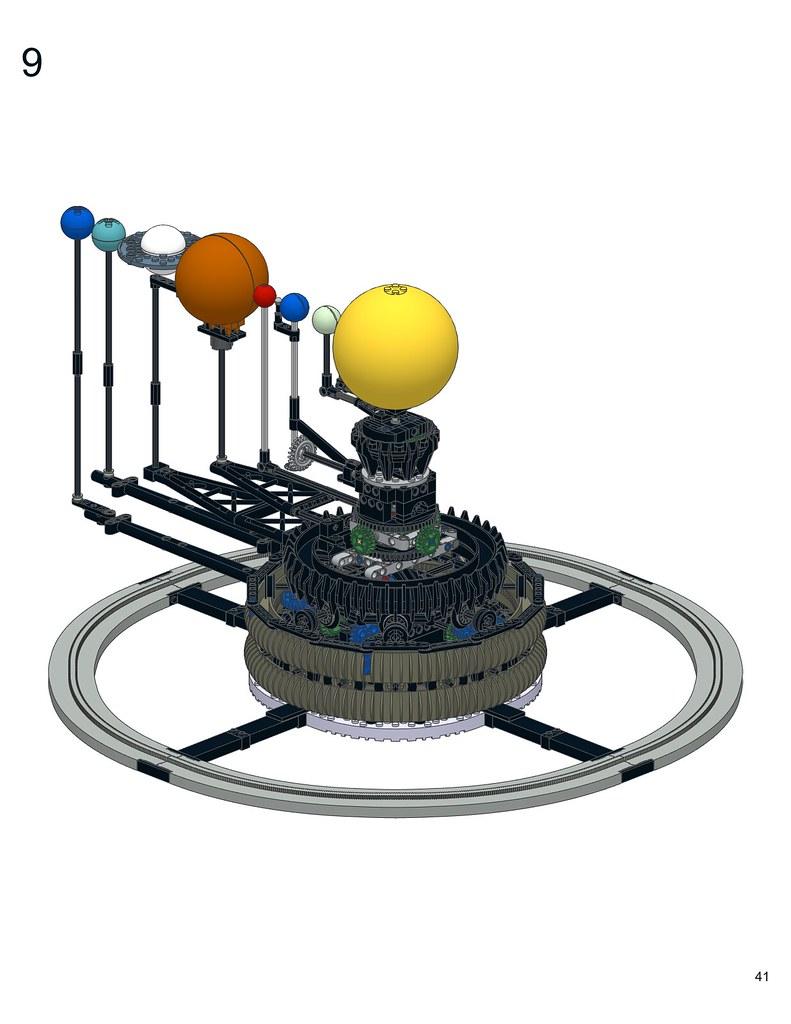 lego solar system instructions