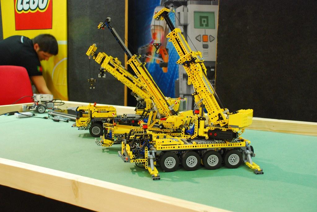 Mobile Crane Terminology : Lego technic mobile crane mk ii assembling the