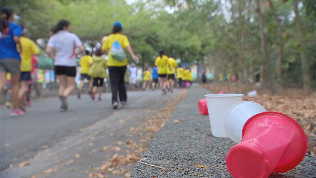路跑活動常消耗大量免洗杯