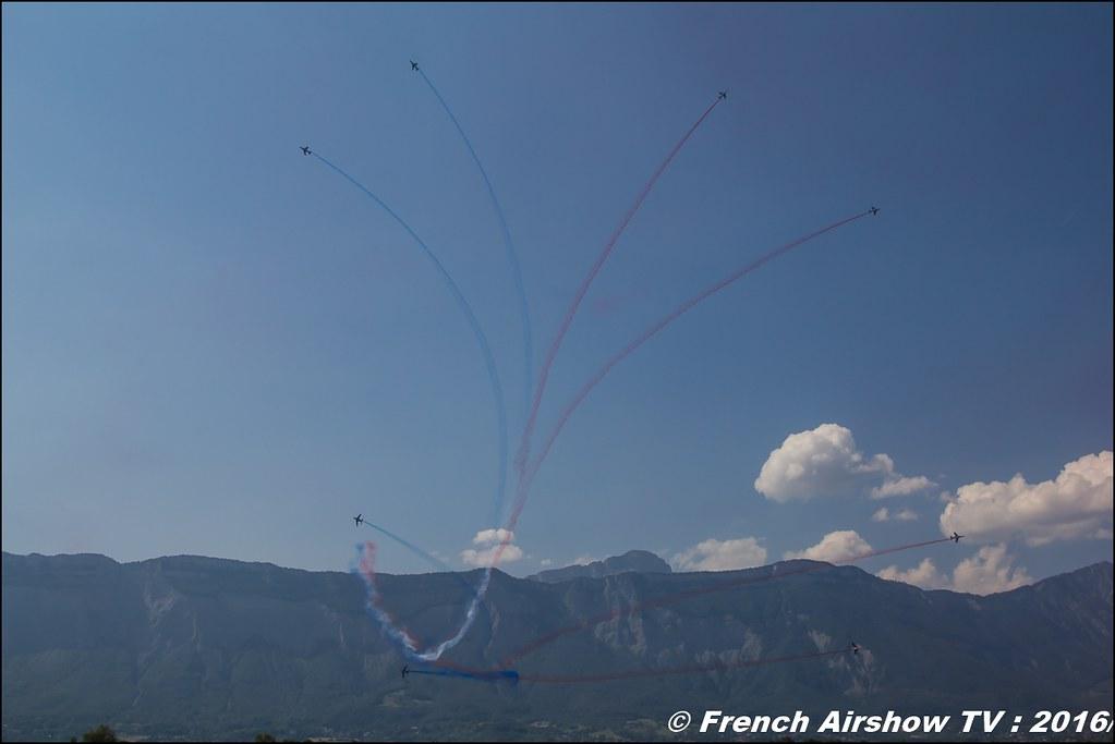 Patrouille de France , Athos , Alphajet , Patrouille de France 2016 ,Grenoble Air show 2016 , Aerodrome du versoud , Aeroclub du dauphine, grenoble airshow 2016, Rhone Alpes