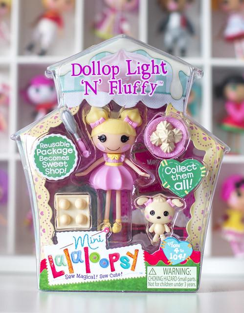 Mini Lalaloopsy Dollop Light  N  Fluffy  Lalaloopsy Dollop Light N Fluffy