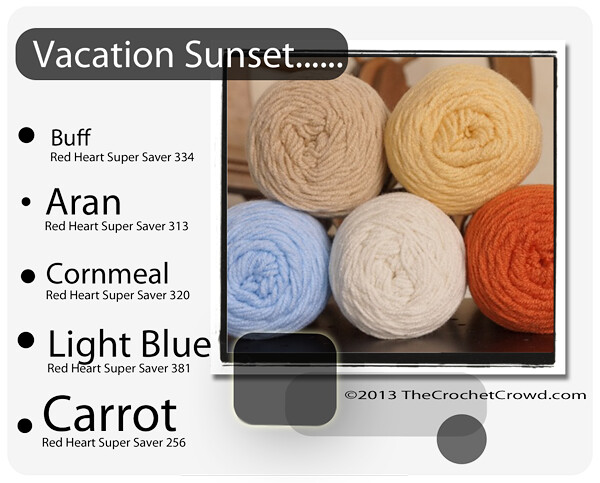 Color Schemes Using Red Heart Super Saver Flickr
