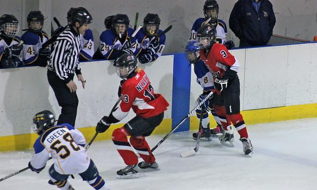 the 2012 chicago fury u14 aaa girls hockey team vs napervi