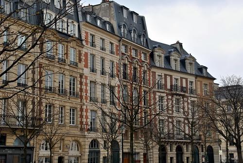 Ile de la Cité - Place Dauphine