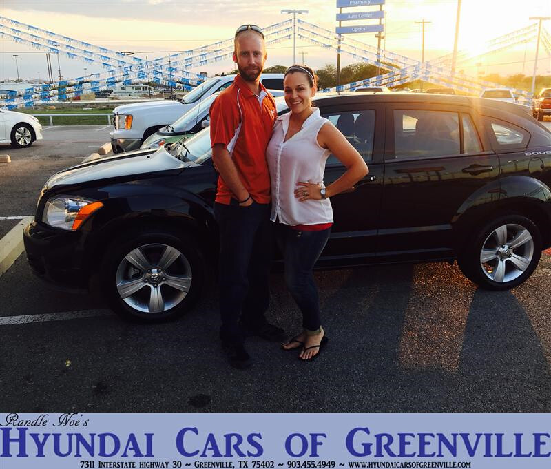 Hyundai Greenville Sc: Congratulations To Amber Biles On Your #Dodge #Caliber Pur