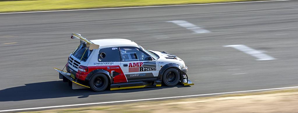 Amp Racing Daihatsu Charade Main Straight Sydney Motorspor Flickr