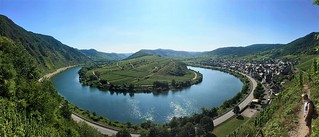 panoramic view over the Mosel | by sharonjanssens