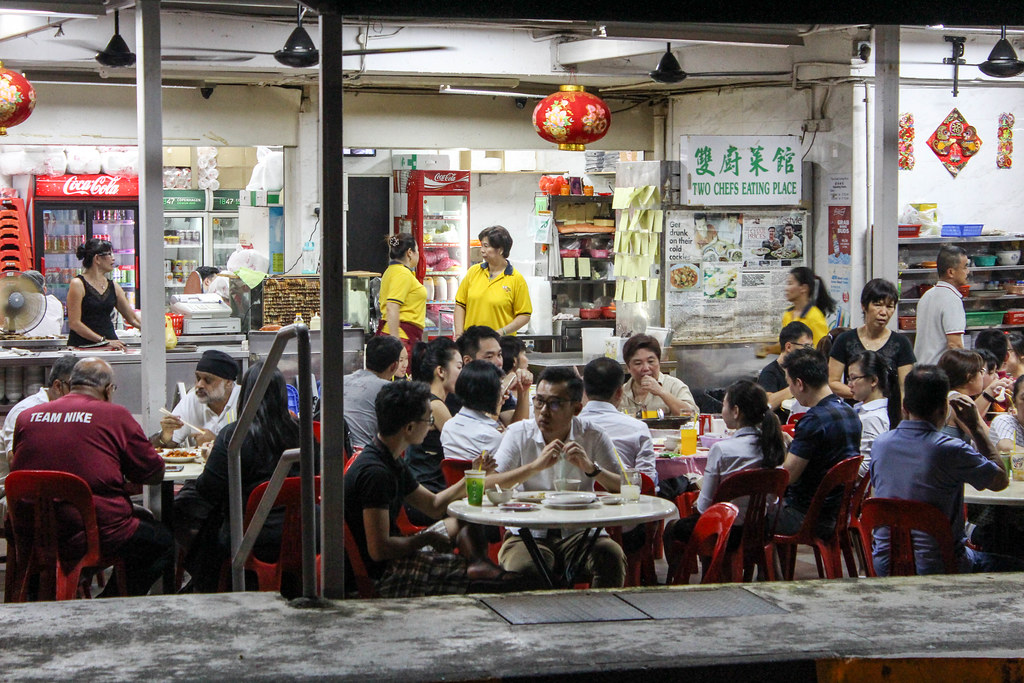 Tanglin Halt: Two Chefs Eating Place