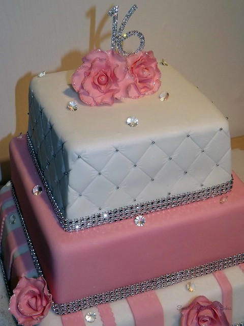 Sweet 16 Birthday Cake Explore Sweetharts Cakes And