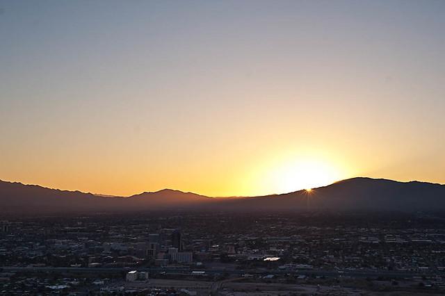 Sunrise from Tumamoc Hill